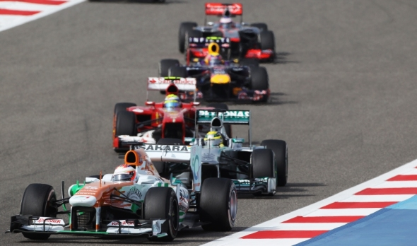Force India wants to keep fighting with the big teams - Photo: Sahara Force India
