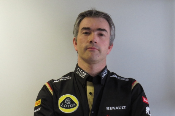 New Technical Director Nick Chester - Photo: Lotus F1