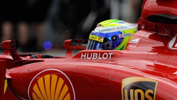 Felipe Massa was second this morning - Photo: Ferrari