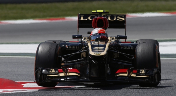 Romain Grosjean - Photo: Lotus F1