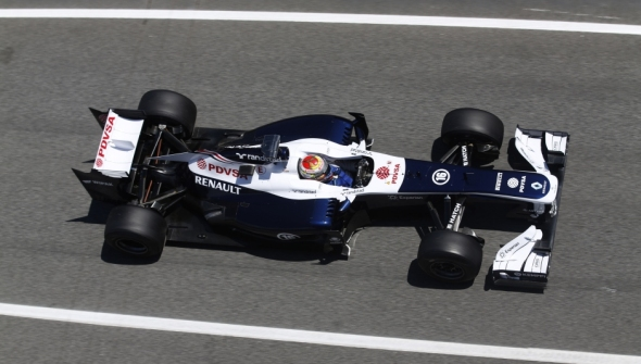 Not much luck for Williams during qualifying - Photo: Williams F1