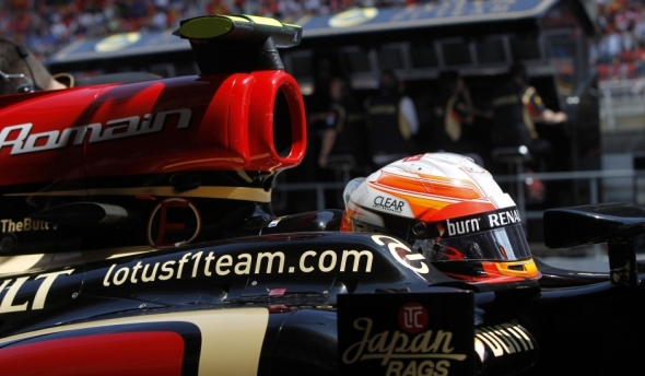 Raikkonen not happy with second place ... he wants to win! - Lotus F1