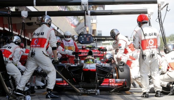 Too many pit stops in Spain - Photo: McLaren